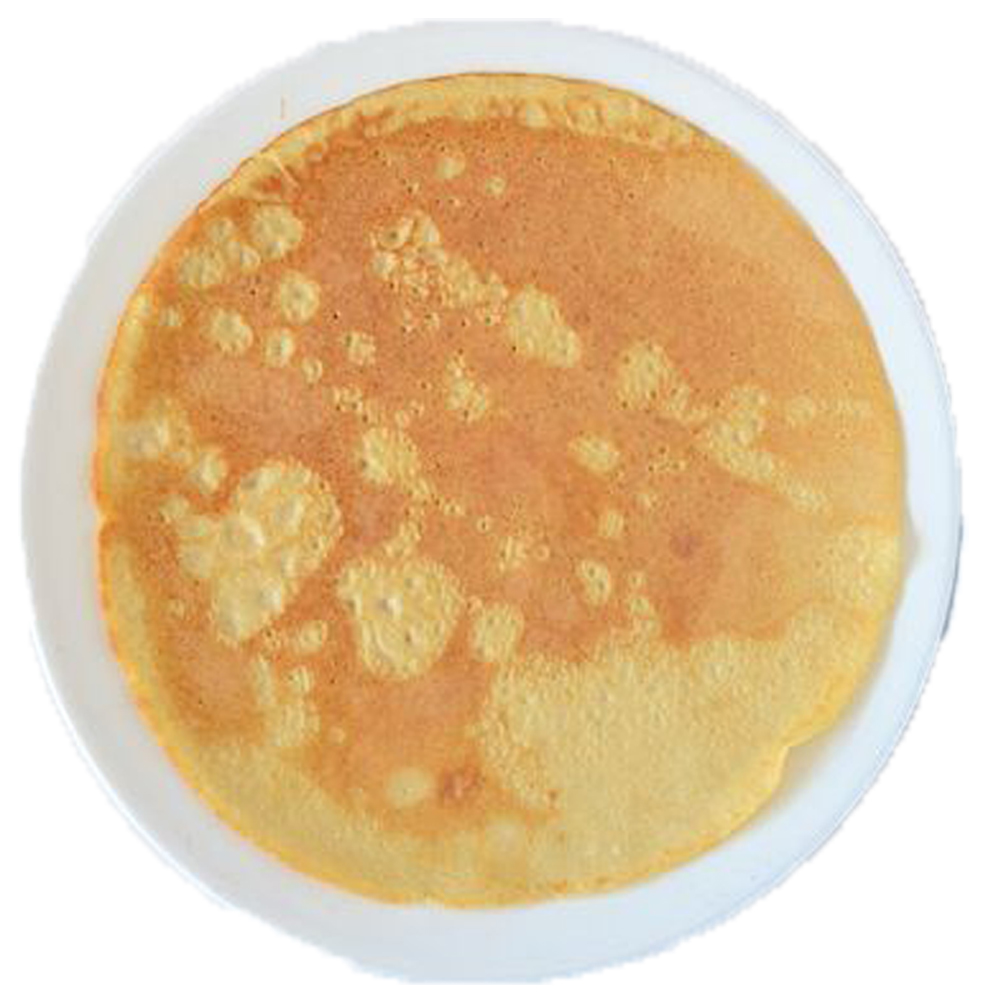 Naturel pannenkoek